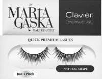 Clavier - QUICK PREMIUM LASHES by Marta Gąska - False eyelashes - 811 Just A Pinch