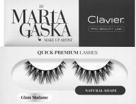 Clavier - QUICK PREMIUM LASHES by Marta Gąska - False eyelashes - 829 Glam Madame
