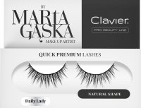 Clavier - QUICK PREMIUM LASHES by Marta Gąska - Artificial eyelashes on a strip - 813 Daily Lady