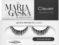 Clavier - QUICK PREMIUM LASHES by Marta Gąska - False eyelashes - 809 Smokey-Dokey