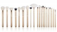 JESSUP - Classics Alchemy Brushes Set - Set of 20 make-up brushes - T403 Golden / Rose Gold