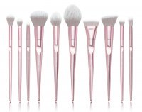 JESSUP - Luxury Series Brushes Set - Set of 10 make-up brushes - T260 Metallic Pink
