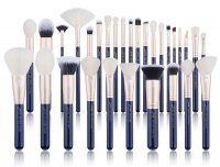 JESSUP - Classics Galaxy Series Brushes Set - Set of 30 make-up brushes - T470 Prussian Blue / Golden Sands