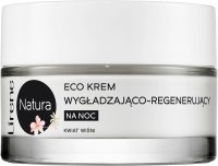 Lirene - Natura - Eco smoothing and regenerating night cream - Cherry Blossom - 50 ml