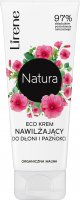 Lirene - Natura - Eco moisturizing hand and nail cream - Organic Mallow - 75 ml