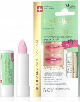 Eveline Cosmetics - LIP THERAPY PROFESSIONAL - S.O.S. EXPERT LIP BALM - Intensively regenerating, coloring lip balm - Rose