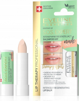 EVELINE COSMETICS - LIP THERAPY PROFESSIONAL - S.O.S. EXPERT LIP BALM - Intensively regenerating, coloring lip balm - Nude