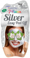 7th Heaven (Montagne Jeunesse) - Silver Easy Peel Off Mask - Silver face mask - Peel Off