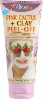 7th Heaven (Montagne Jeunesse) - Pink Cactus + Clay Peel Off Mask - Purifying face mask with pink cactus - Peel Off - 100 ml
