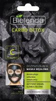 Bielenda - Carbo Detox - Cleansing Carbon Mask - Cleansing carbon face mask - 8 g