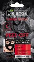 Bielenda - Carbo Detox - Cleansing Carbon Peel Off Mask - Peel Off Cleansing Carbon Mask - 2 x 6g