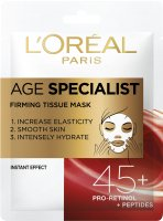 L'Oréal - AGE SPECIALIST FIRMING TISSUE MASK - Firming 45+ face mask