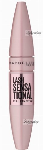 MAYBELLINE - LASH  SENSATIONAL FULL FAN EFFECT MASCARA - 01 VERY BLACK