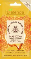 Bielenda - Manuka Honey Nutri Elixir - Nourishing & Moisturizing Face Mask - Nourishing and moisturizing mask - 8 g