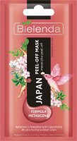 Bielenda - Japan - Regenerating & Soothing Metallic Peel-Off Mask - Metallic peel-off mask - Regenerates and soothes - 8 g