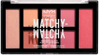 NYX Professional Makeup - MATCHY-MATCHY MONOCHROMATIC COLOR PALETTE - Face makeup palette - 02 Melon