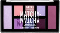 NYX Professional Makeup - MATCHY-MATCHY - MONOCHROMATIC COLOR PALETTE - Eye and face makeup palette - 04 LILAC