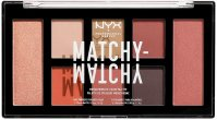 NYX Professional Makeup - MATCHY-MATCHY - MONOCHROMATIC COLOR PALETTE - Eye and face makeup palette - 03 CAMEL