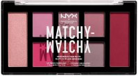 NYX Professional Makeup - MATCHY-MATCHY MONOCHROMATIC COLOR PALETTE - Face makeup palette - 05 Berry Mauve