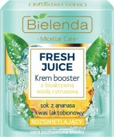 Bielenda - Fresh Juice - Brightening Cream Booster with Bioactive Citrus Water - Brightening cream booster with bioactive citrus water - 50 ml