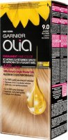 GARNIER- OLIA PERMANENT HAIR COLOR - 9.0 LIGHT BLONDE - Hair dye - Permanent hair color - Light blond