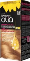 GARNIER- OLIA PERMANENT HAIR COLOR - 8.0 BLONDE - Hair dye - Permanent hair color - Blonde