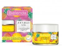 Bielenda - Juicy Jelly Mask - Refreshing Mask with Pineapple and Vitamin C