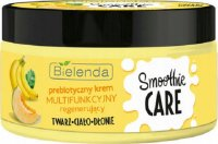 Bielenda - SMOOTHIE CARE - Prebiotic multi-functional cream - Regenerating - Prebiotic + Banana + Melon - 200 ml