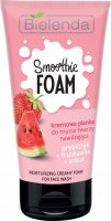 Bielenda - SMOOTHIE FOAM - Moisturizing Creamy Foam for Face Wash - Creamy face wash foam - Moisturizing - Prebiotic + Strawberry + Watermelon