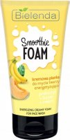 Bielenda - SMOOTHIE FOAM - Energizing Creamy Foam for Face Wash - Creamy face wash foam - Energizing - Prebiotic + Banana + Melon