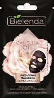 Bielenda - CAMELLIA OIL - Luxurious Rejuvenating Face Mask - Luxury rejuvenating mask in a hydroplastic 3D sheet