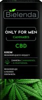 Bielenda - Only For Men - Cannabis - CBD - Regenerating and Soothing Cream - 50 ml