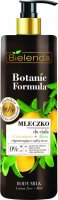 Bielenda - Botanic Formula - Body Milk - Lemon Tree + Mint - Regenerating and nourishing body milk - 400 ml