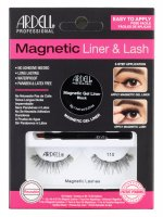 ARDELL - MAGNETIC LINER & LASH - A set of artificial eyelashes with a magnetic gel liner - 110
