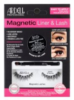 ARDELL - MAGNETIC LINER & LASH - A set of artificial eyelashes with a magnetic gel liner - Demi Wispies