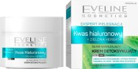 EVELINE - CARE EXPERT - Strongly moisturizing detox cream - Hyaluronic acid + Green tea - Day / Night - 50 ml