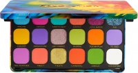 MAKEUP REVOLUTION - FOREVER FLAVLESS SHADOW PALETTE - 18 eyeshadows - BIRDS OF PARADISE