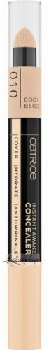 Catrice - INSTANT AWAKE CONCEALER - Face corrector with a sponge - 1.8 ml