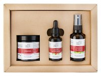 Your Natural Side - Gift set of natural cosmetics - Strawberry & Green Tea