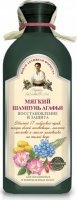 Agafia - Recipes of Babies Agafii - Herbal shampoo for colored and damaged hair - Soft - 350 ml