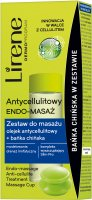 Lirene - ANTI-CELLULITE ENDO-MASSAGE - Massage set with anti-cellulite oil and the Chinese Cup