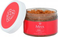 MIYA - My SOS Scrub - Express Body Scrub - Express body scrub with red clay - 200 g