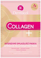 Dermacol - Collagen + Intensive Rejuvenating Mask - Intensively rejuvenating face mask - 2x8g