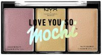 NYX Professional Makeup - LOVE YOU SO MOCHI - Highlighting Palette - Highlighter Palette - 01 LIT LIFE