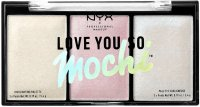 NYX Professional Makeup - LOVE YOU SO MOCHI - Highlighting Palette - Highlighter Palette - 02 ARCADE GLAM