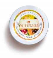 ORIENTANA - Natural Gel Face Scrub - Natural gel face scrub - Papaya and Indian Ginseng - 50g