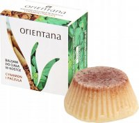 ORIENTANA - SOLID MASSAGE BAR - 100% natural ankle body lotion - Cinnamon and Patchouli - 60g