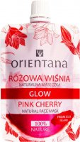 ORIENTANA - GLOW - NATURAL FACE MASK - PINK CHERRY - Natural mask - Pink cherry - 30 ml