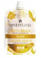 ORIENTANA - GLOW - NATURAL FACE MASK - GOLDEN ARALIA - Natural mask - Golden Aralia - 30 ml