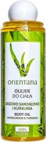 ORIENTANA - BODY OIL - SANDALWOOD & TURMERIC - Body oil - Sandalwood and turmeric - 210 ml